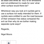 "A numbers doctor writes…and, politely, gets it wrong on car tax being a ""fee to use roads"""